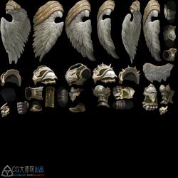 魔幻风格骨骼素材