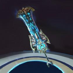 日韩风游戏【Axe】全套武器3d模型 大剑 剑盾 法杖 弓箭 匕首