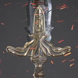 一把高质量次世代大宝剑-大贴图2048带全套贴图有法线
