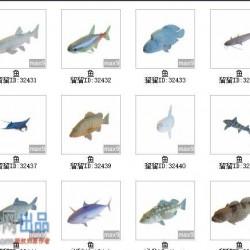 110只动物模型带贴图(需要3d溜溜下载资源管理软件)