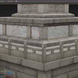 人民英雄纪念碑3d模型