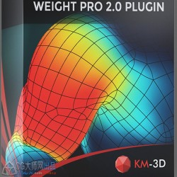 3dsmax-自动骨骼蒙皮插件Weight Pro 2.01 For 3ds max 2013 – 2020 + 视频教程
