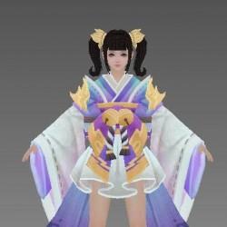 (大师网)一套中国风武侠江湖范3d手游模型资源