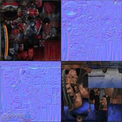 MOBA游戏神之浩劫SMITE次世代魔幻角色人物道具NPC怪物3D模型 Fbx