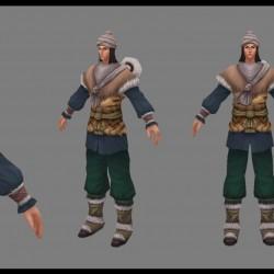 [3D资源] 七剑模型资源带动画