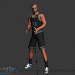 篮球动画参考(fbx文件)