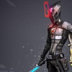 欧美游戏手绘朋克次世代风《无主之地2》角色 武器 怪物 场景道具 NO.01