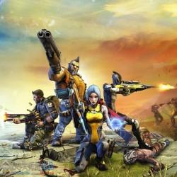 欧美游戏手绘朋克次世代风《无主之地2》角色 武器 怪物 场景道具 NO.02