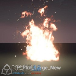 【Unity游戏资源素材2017年5月合辑第一季拆分】Environmental Fires