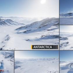 ue4地形、地貌、雪山、湖泊