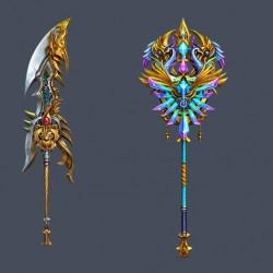 传奇武器,屠龙刀,法杖,琴,鞭子,蛇鞭,盾牌,开天
