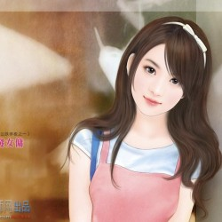 春天系列小说封面 377P