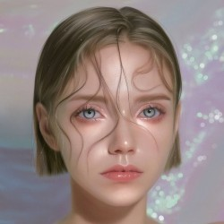 波兰画师Ewelina Kowalczyk超现实人像作品欣赏