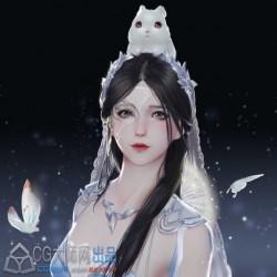 古风模型 心王·明妆