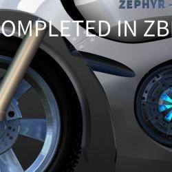 硬面建模雕刻Zbrush教程