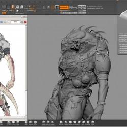 外星生物角色建模教程