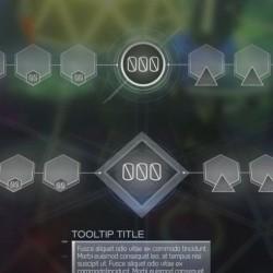 UI参考-科技竞技扁平化UI(698图) 游戏美术资源2 次世代未来界面 ui 素材