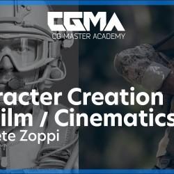 影视级角色制作渲染教程