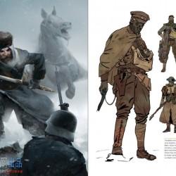 战地1 现代战争题材艺术美术设计