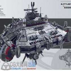 科幻机械飞行器【第一弹】2100P+