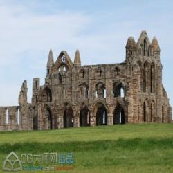 高清 中世纪欧洲【城堡堡垒外观结构】 360度视角拍摄