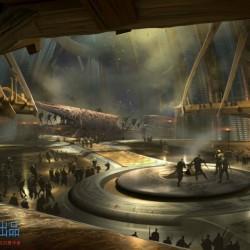 异星战场场景概设计