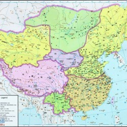 中国历史各个朝代地图选 高清 60M 21P