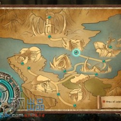 地图设计清晰卡通