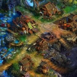 《梦启江湖》游戏地图