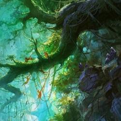 daniellieske魔法绘画 游戏原画素材 CG设定绘画