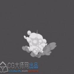 [3D特效] 卡通烟雾特效——源文件(U3D)
