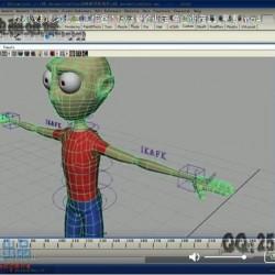 影视动画工作室 Maya角色骨骼绑定