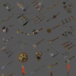 《神鬼寓言》全套角色 场景道具 武器