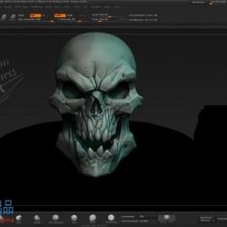 暴雪暗黑风格角色3D模型制作全流程 次世代PBR材质视频教程 maya