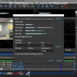 Boujou基础入门训练视频教程