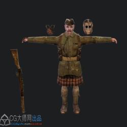 《死灵幻象:迷失连队》游戏模型