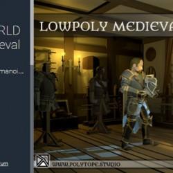 模块化套装LOWPOLY MEDIEVAL WORLD - Lowpoly Medieval Armors