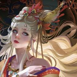 国人画师 Tea Me 作品欣赏53p 女性角色