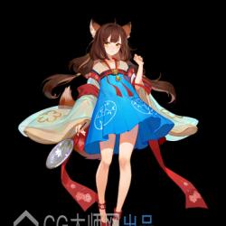 手游云梦四时歌-新唐古风妖系卡通二次元武侠仙侠3D模型+UI+立绘+特效