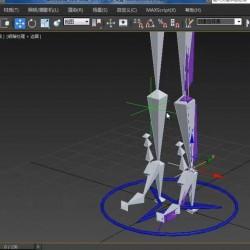 3Dsmax2015角色动画骨骼绑定中文教程