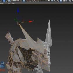尼莫大神教学,是录制的视频,关于死亡之翼的建模制作