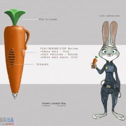 《疯狂动物城》 概念设计 故事版 角色设计