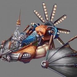 坐骑-蒸汽飞艇-神魔系列(百度网盘)