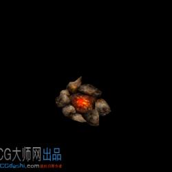 CG模型-火堆