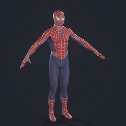 Spiderman-Raimi Suit PS4 蜘蛛侠 莱米套装