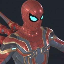 Spider-Man_Iron Spider PS4游戏 钢铁蜘蛛侠-漫威蜘蛛侠 赛塔克