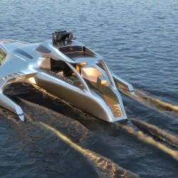 Max+PhoenixFD(凤凰流体) 船在海面航行