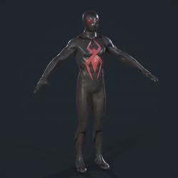 SpiderMan-Dark Suit PS4 蜘蛛侠 黑色套装 黑蜘蛛