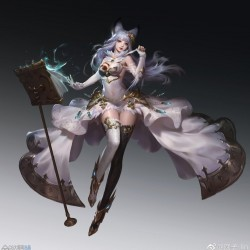 作者圆子-lin精美画集