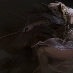 国人画师XIA_YU XIA_YU作品欣赏 32p 黑暗画风 美女